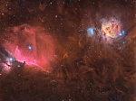 Orion wide field (m42 &  IC 434)